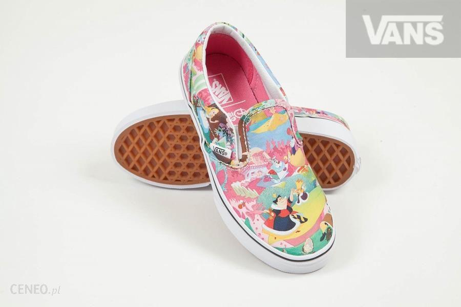 b8305ad765 BUTY DZIECIĘCE VANS K CLASSIC SLIP-ON - (Disney) Wonderland pink ...