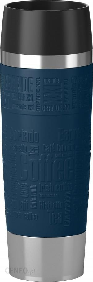 emsa xxl travel mug grande 500 ml niebieski 515618 ceny i opinie. Black Bedroom Furniture Sets. Home Design Ideas