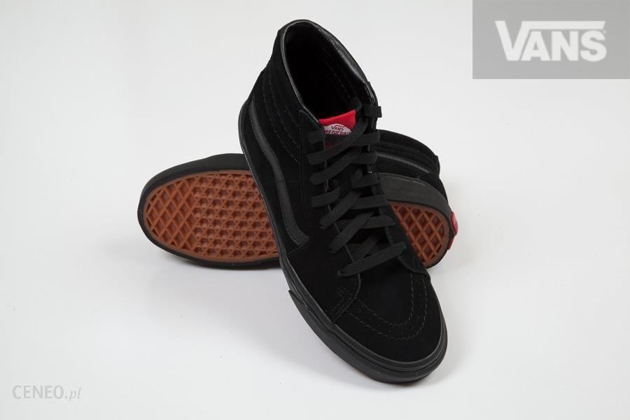 U Buty Vans Sk8 Hi BlackBlack (Suede) # 100 Ceny i opinie Ceneo.pl