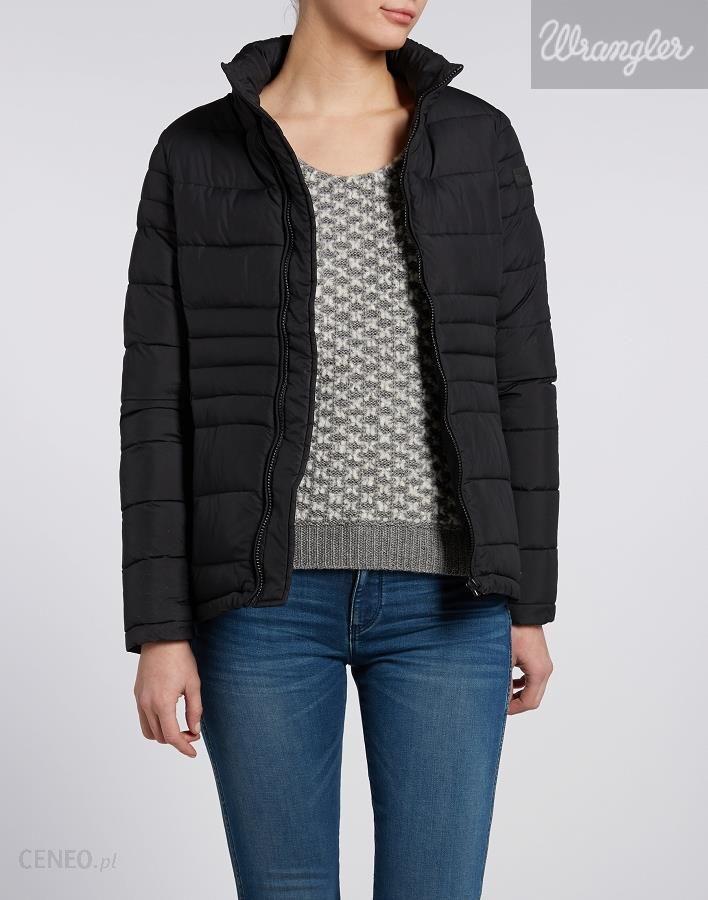 Kurtka Wrangler Damska Short Jacket Black #L