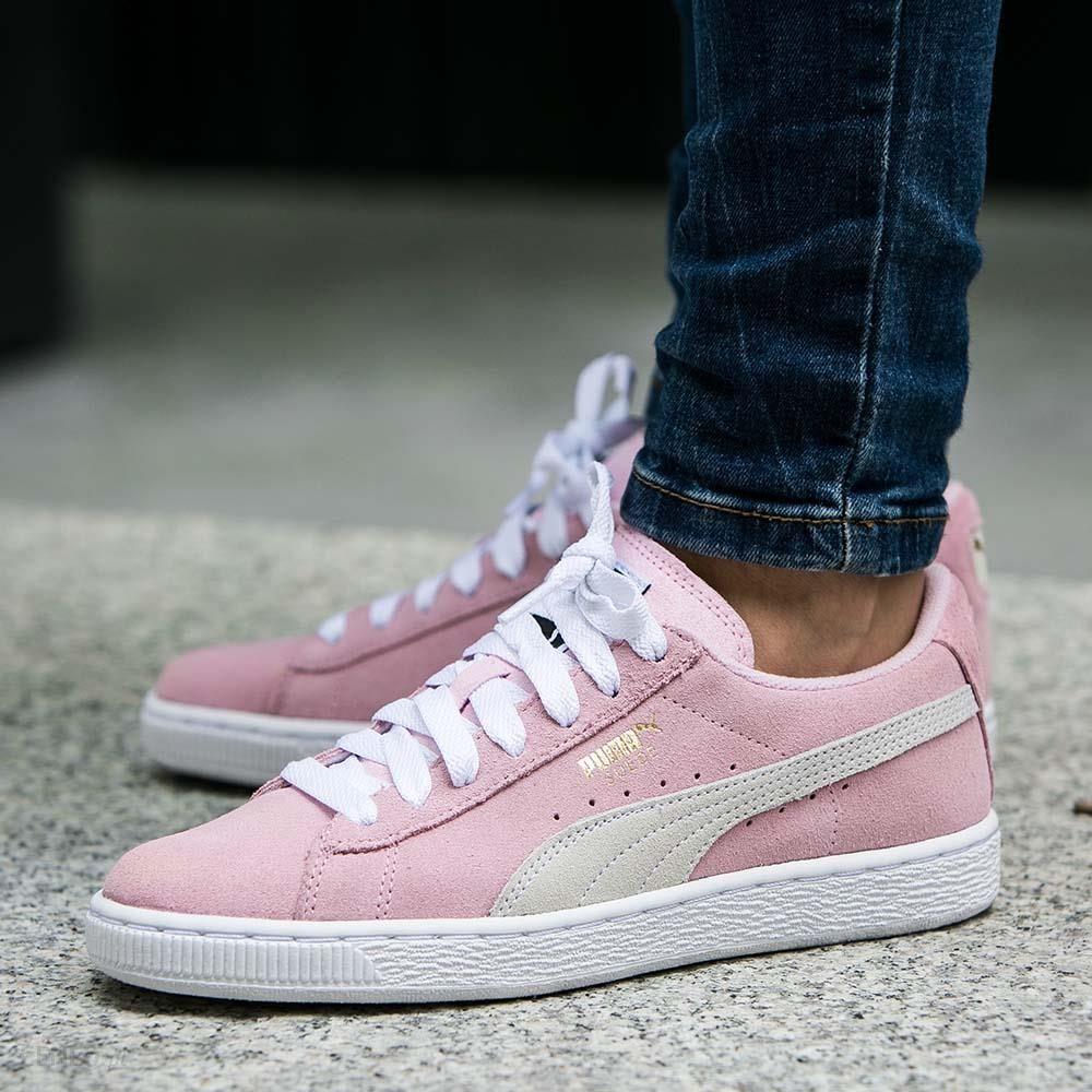Sklep Puma Suede Sneakersy Dziecięce Puma Buty Jasny Różowe
