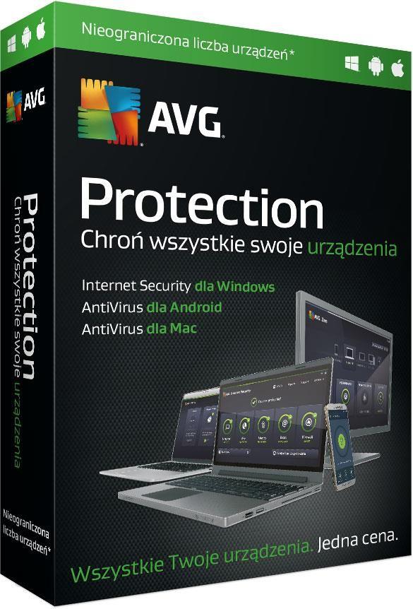 AVG Internet Security MultiDevice 10 urządzeń na 1 Rok (GSR00012)