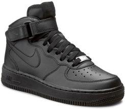 260a191911a64e Buty NIKE - Air Force 1 Mid (Gs) 314195 004 Black/Black eobuwie