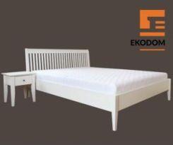 Ekodom łóżko Drewniane Glamour Olcha Naturalna 180x200 Szuflada 23