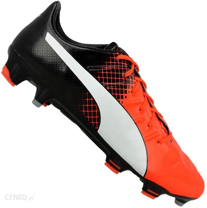 Buty piłkarskie Puma evoPOWER 1.3 Fg M 10352401 niebieski