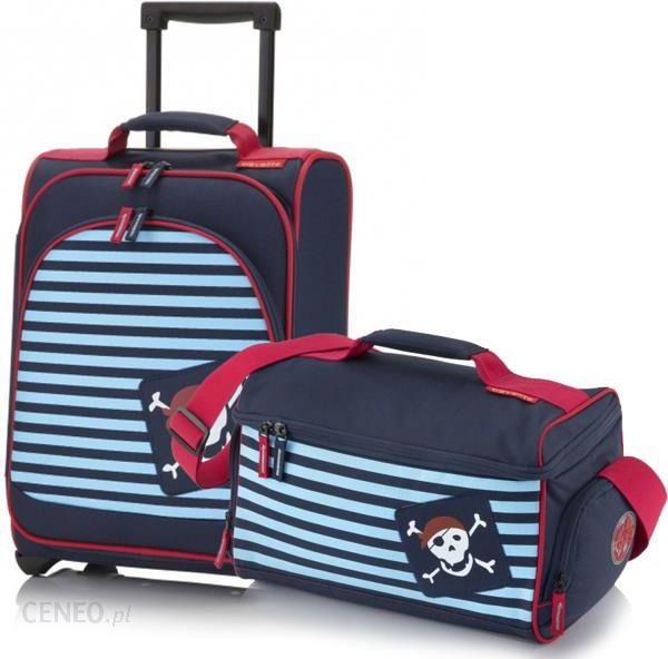 ffd23b50d7af1 Komplet Walizka i torba podróżna dla dzieci, Travelite Youngster, pies -  pirat - zdjęcie