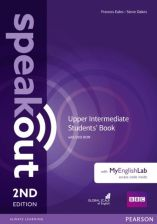 Speakout 2nd Edition Upper-intermediate Student&s Book with DVD-ROM with MyEnglishLab
