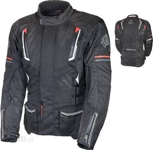 Kurtka tekstylna męska ADRENALINE TITAN RS, kolor czarny