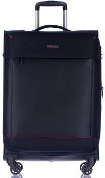 069ad41dc6ac4 PUCCINI walizka duża z kolekcji AMSTERDAM miękka 4 koła materiał Nylon  zamek szyfrowy możliwość poszerzenia