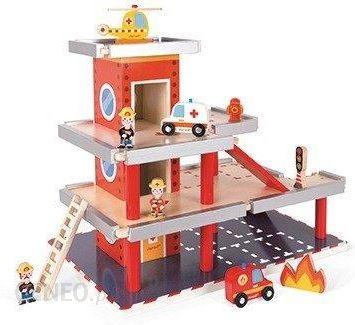 prezent dla 3-latka janod remiza garaż