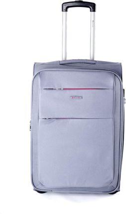 8d1ff914331a7 Średnia walizka SUMATRA 1011B 4 zielona limonka CASSO - Ceny i ...