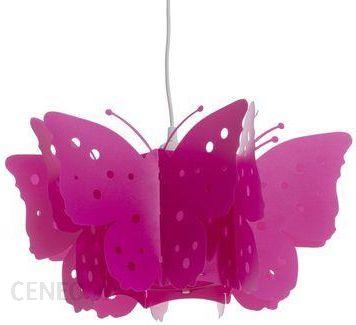 Leroy Merlin Lampa Wisząca Motyl Różowy Lm4618368