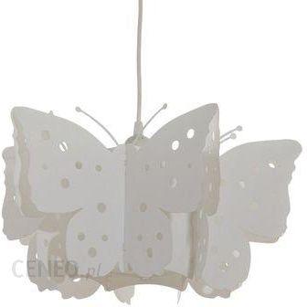 Leroy Merlin Lampa Wisząca Motyl Biały 4618390