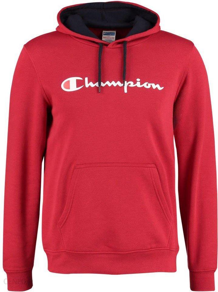 wylot wielka wyprzedaż dobra tekstura Champion Bluza z kapturem red