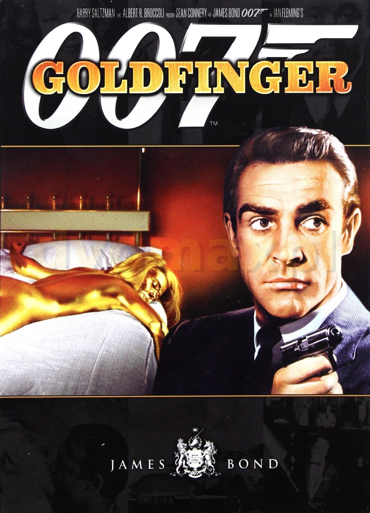 DVD 007 James Bond Goldfinger booklet DVD Ceny i opinie