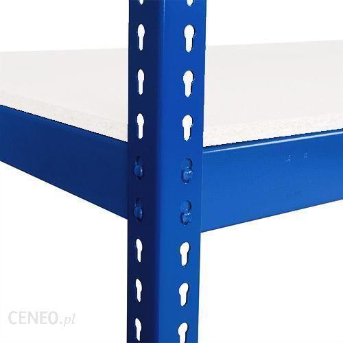 Manutan Dodatkowe Półki Laminowane 915cm 340kg Niebieskie Rapid 1 20960123