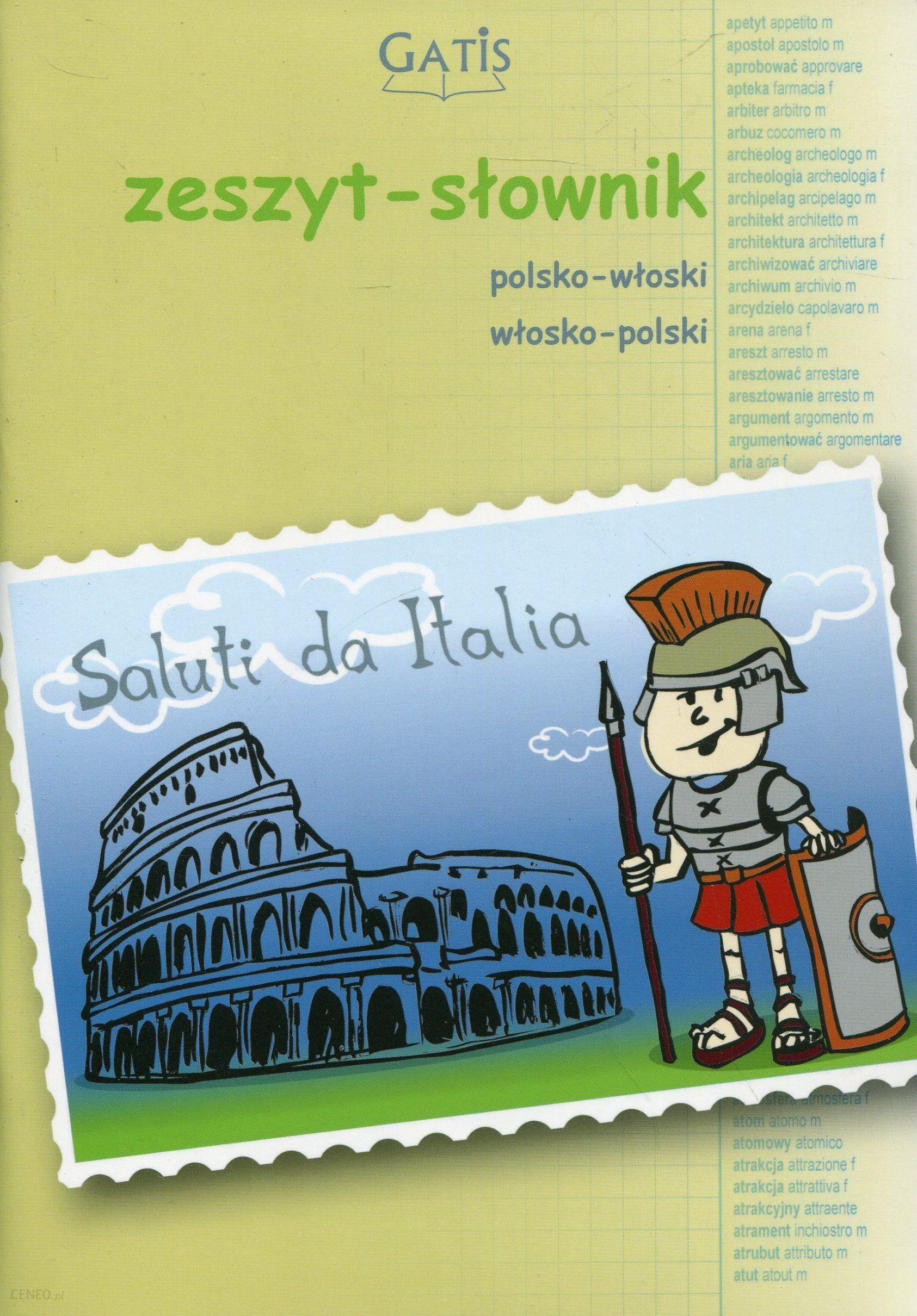 Gatis Zeszyt Do Języka Włoskiego Słownik W Kratkę A5 60 Kartek - zdjęcie 1