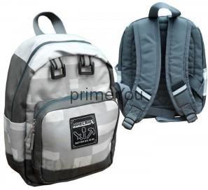b1223d9b14c64 Fashion UK Plecak Minecraft Szary 30 cm MNCR1005 - Ceny i opinie ...