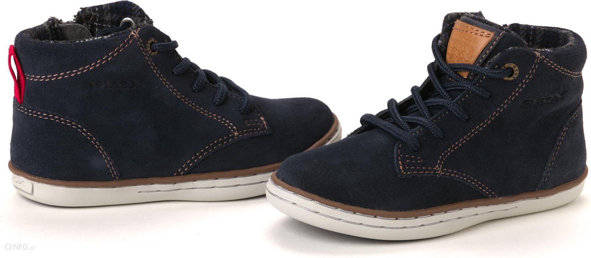 Geox buty za kostkę chłopięce 29 ciemnoniebieski Ceny i opinie Ceneo.pl