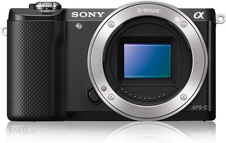 Aparat Cyfrowy Z Wymienna Optyka Sony A5000 Czarny Body Ceny I Opinie Na Ceneo Pl