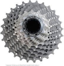 Shimano Dura-Ace CS-9000 Bicycle Cassette - 11 Speed Small Ratio Grey 11-25T
