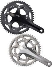Shimano 105 FC-5750 Compact Bicycle Chainset Black 50-34T 170mm