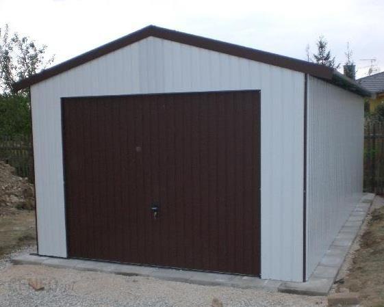 Garaż Blaszany Z Dachem Dwuspadowym 3x5 Opinie I Ceny Na Ceneopl