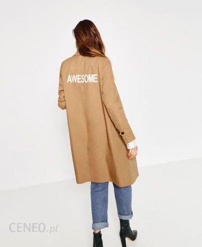 płaszcz camel chlopiecy zara