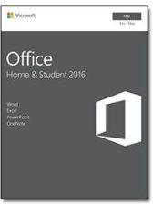 Microsoft Program Office 2016 Home Student Mac ENG 32/64-bit Medialess P2 (GZA00873)