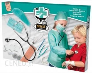 Ses Creative Zestaw Mały Lekarz Stetoskop Dla Dzieci Fartuch