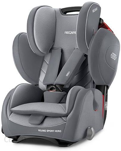 fotelik recaro young sport hero aluminium grey 9 36kg ceny i opinie. Black Bedroom Furniture Sets. Home Design Ideas