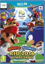 Mario & Sonic At The Rio 2016 Olympic Games (Gra WiiU)
