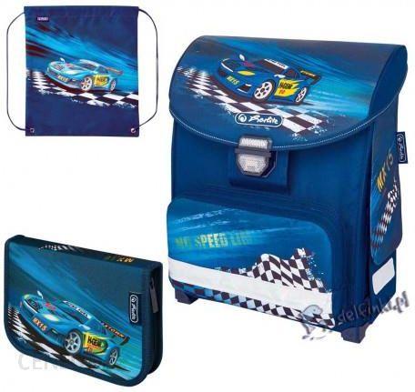 33b289ba51253 Herlitz - Zestaw 3W1 Tornister Plecak Szkolny Smart Super Racer 17511541543  - zdjęcie 1