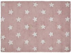 Lorena Canals Dywan Pink stars white 120x160 cm