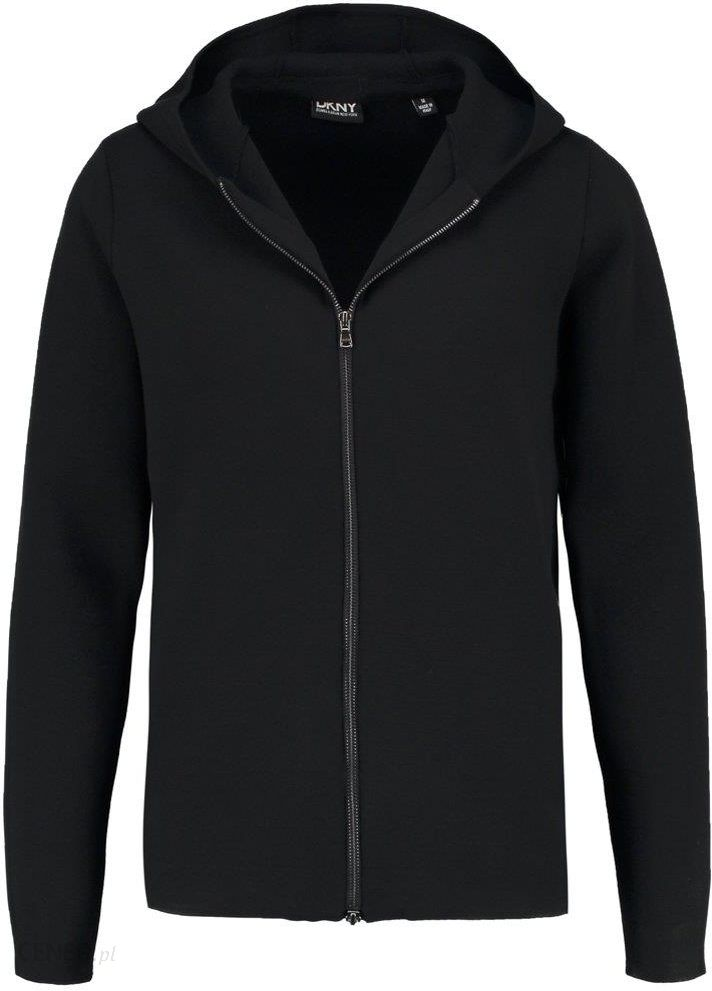 dkny bluza czarna rozpinana