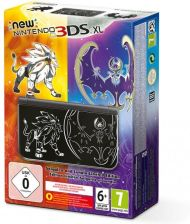 New Nintendo 3DS XL Solgaleo and Lunalaa Limited Edition