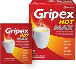 Gripex hot saszetki cena