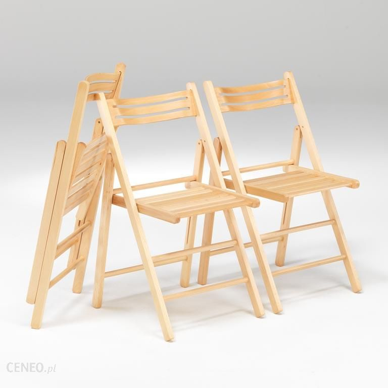 Wybitny AJ Składane krzesło drewniane (113212) - Ceny i opinie - Ceneo.pl ZW54