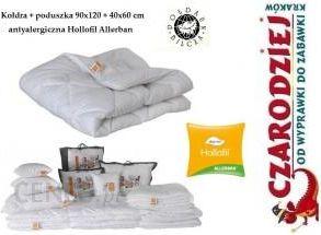 3b985d31ca1d99 Zestaw pościel kołdra + poduszka antyalergiczna Hollofil Allerban Poldaun  90x120 + 40x60 cm całoroczna - zdjęcie
