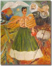 Reprodukcja Frida Kahlo Kod Obrazu Kahlo8 Opinie I Atrakcyjne Ceny Na Ceneopl