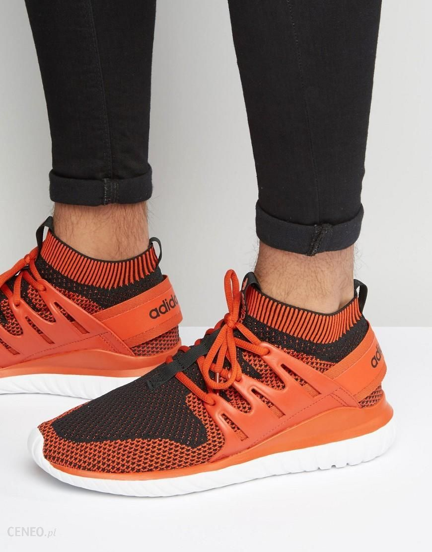 Adidas Originals Tubular Nova Primeknit Trainers In Red S80107 Red Ceneo.pl