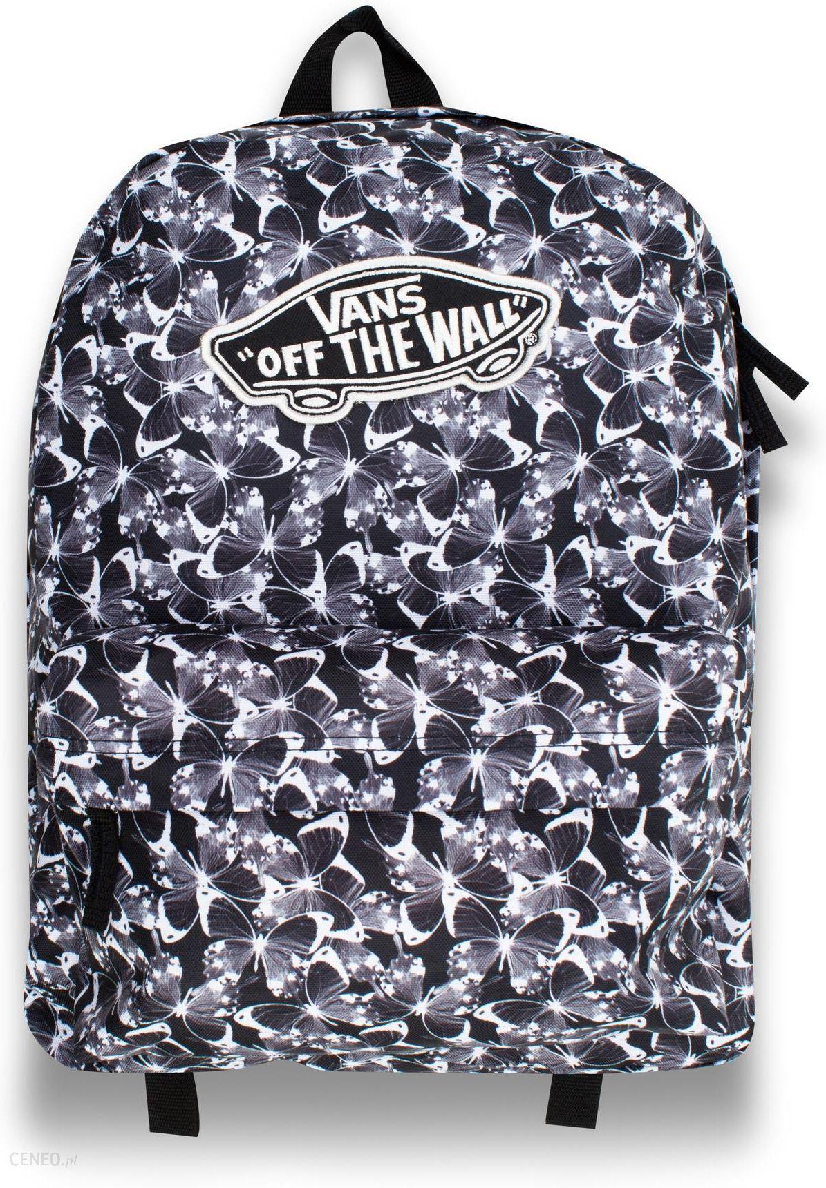 Vans W Realm Backpack Butterfly czarny