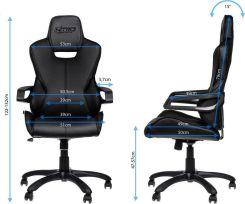 Nitro Concepts E200 Race Gaming Black NCE200RB