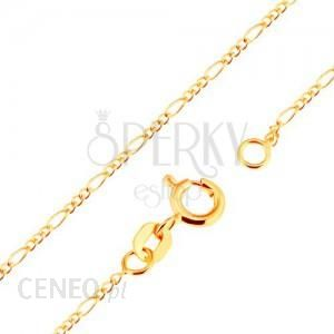 aa11e7f937556 Biżuteria E-Shop Złoty 18K Łańcuszek - Splot Figaro
