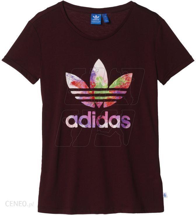 Koszulka adidas ORIGINALS Graphic Trefoil Tee W AY6663 Ceny i opinie Ceneo.pl
