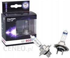 halogenowe BOSCH GIGALIGHT PLUS 120 (+120% więcej światła) H7 12V 55W, 2 szt.