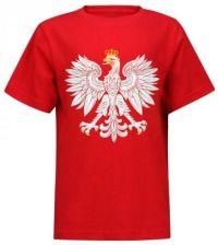 640710d1a Koszulka Patriotyczna Dziecięca Orzeł - Czerwona 122 - Ceny i opinie ...