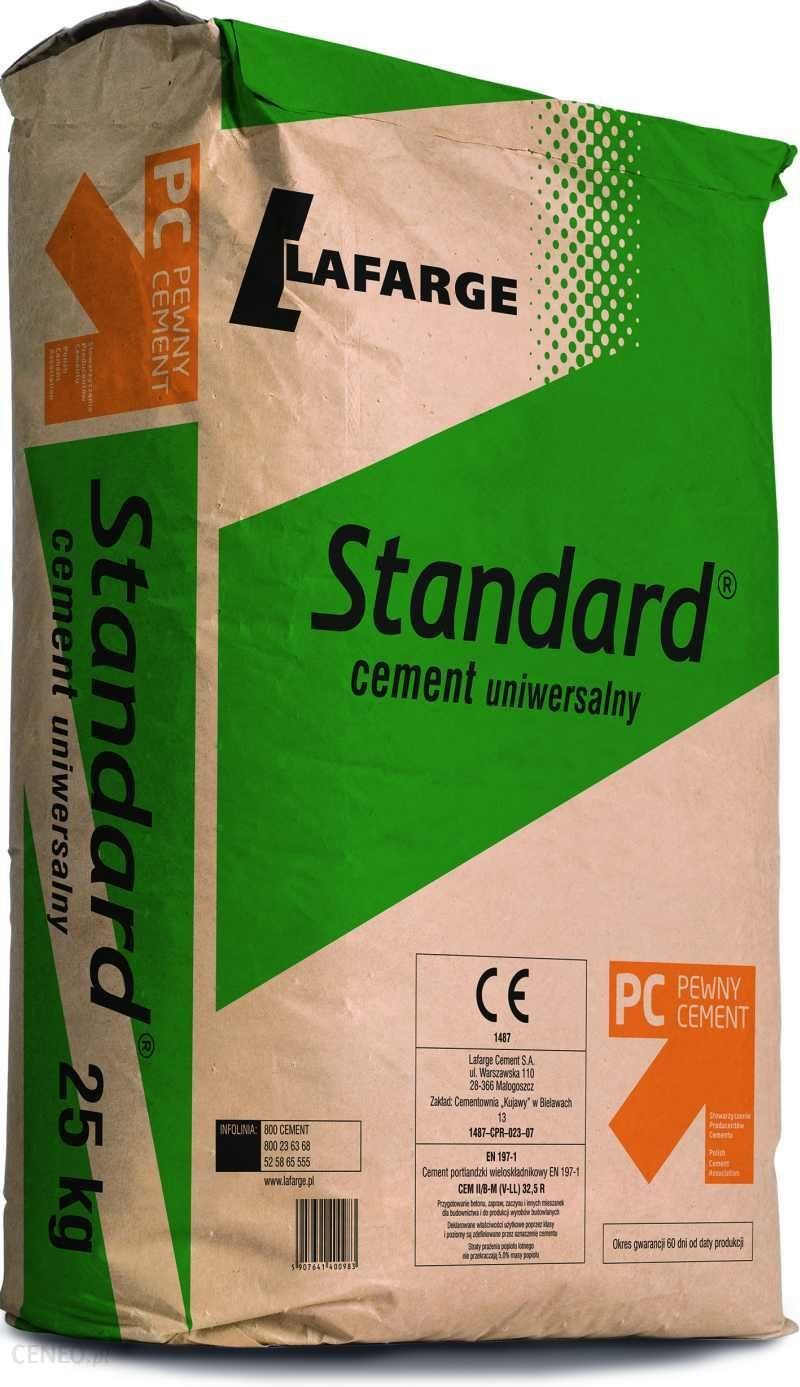 Cement Lafarge Standard Ii B M V Ll 32 5r 25kg Opinie I Ceny Na Ceneo Pl