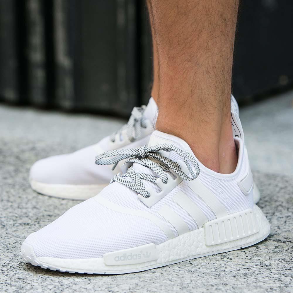 buty adidas nmd białe