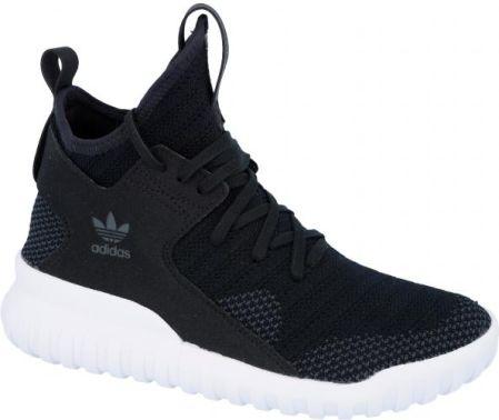 Buty męskie sneakersy adidas Originals Tubular x Primeknit S80129 czarny sneakerstudio.pl
